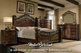 Jual Bedroom Set Antik Kayu Jati JM-950
