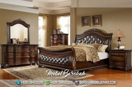 Bed Set Kayu Jati Robert Pattinson JM-954